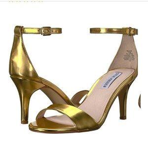 Steve madden Stacy gold foil heels 7.5 prom